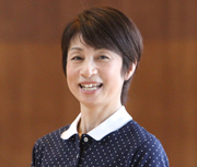 のびのびっ子代表  佐藤 行江 Yukie Sato